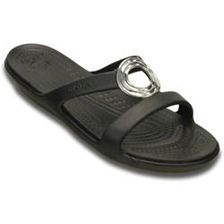 Crocs -  Women's Sanrah Beveled Circle Sandal