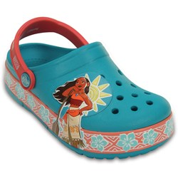 Crocs -  Crocs - Lights Moana Clog (Toddler/Little Kid)