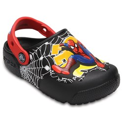 Crocs -  Boys' Crocs - funlab Lights Spiderman Clog