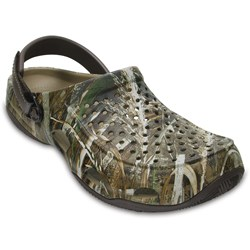 Crocs - mens Swiftwater Deck Realtree Max
