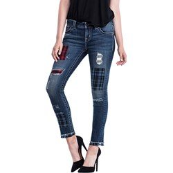 Miss Me - Womens Mid Rise Ankle Skinny Jeans