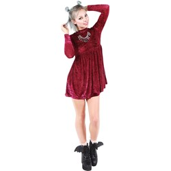 Iron Fist - Womens Cave Creeps Babydoll Dress