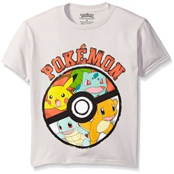 Pokemon - Boys Pokeball Juvy T-Shirt