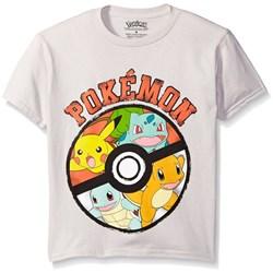 Pokemon - Boys Pokeball Juvy T-Shirt