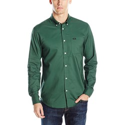 RVCA - Mens That'll Do Oxford Long Sleeve Button Down Shirt