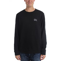 Stussy - Mens Basic Stussy Crew Sweater