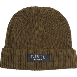 Civil Clothing - Mens Everest Ribbed Beanie