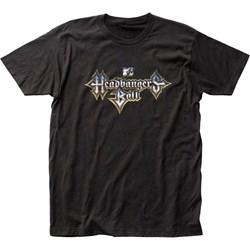 MTV - Mens Headbangers Ball Fitted T-Shirt