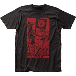 Impact Originals - Mens Death Tarot Fitted T-Shirt
