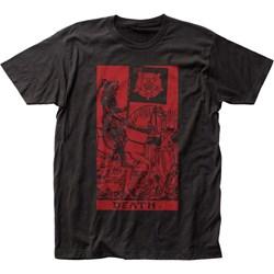 Impact Originals - Mens Death Tarot Fitted T-Shirt
