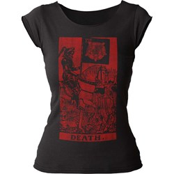 Impact Originals - Womens Death Tarot T-Shirt