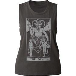 Impact Originals - Womens The Devil Tarot Tank Top
