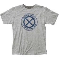 X-Men - Mens Xavier's School Fitted T-Shirt