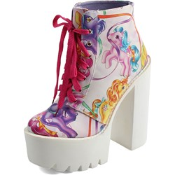 Iron Fist - Womens My Little Pony Merry Go Round Platform Shoes