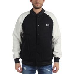 Stussy - Mens Two Tone Wool Varsity Jacket