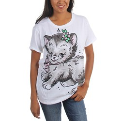 Iron Fist - Womens Pussy Cat Boyfriend T-Shirt