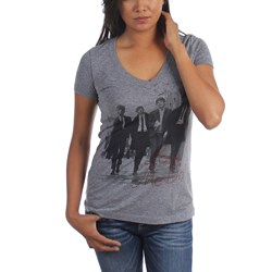 The Beatles - Womens Love Me Do Rhinestones T-Shirt