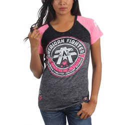 American Fighter - Womens Polytechnic Raglan