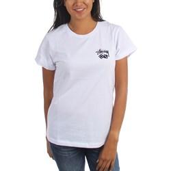 Stussy - Womens Dice Cuff T-Shirt