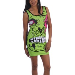 Iron Fist - Womens Zombie Chomper Tank Dress