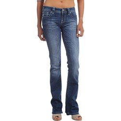 Miss Me - Womens Mid-Rise Bootcut Jeans