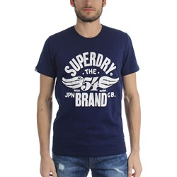 Superdry - Mens '54 Brand Cold Dye T-Shirt