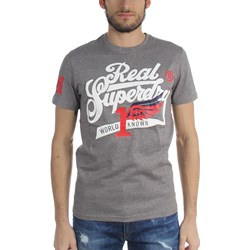 Superdry - Mens Double Drop Grit' T-Shirt