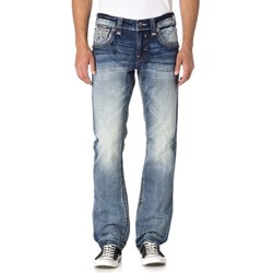 Rock Revival - Mens Baille J202 Straight Jeans