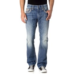 Rock Revival - Mens Daly J401 Straight Jeans
