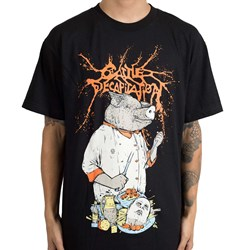 Cattle Decapitation - Mens Pig Chef T-Shirt