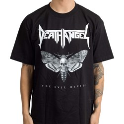 Death Angel - Mens Evil Divide Moth T-Shirt