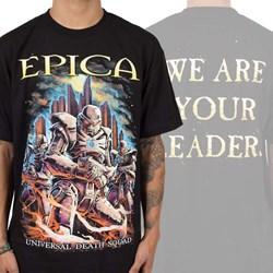Epica - Mens Universal Death Squad T-Shirt