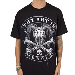 Thy Art Is Murder - Mens Baphomet Skull T-Shirt