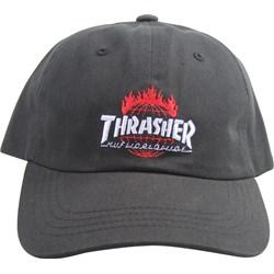 HUF - Mens Thrasher TDS Curve Visor 6 Panel Hat