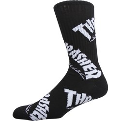 HUF - Mens Thrasher TDS Crew Socks