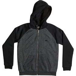 Quiksilver - Boys Blocout Sherpa Zip-Up Hoodie