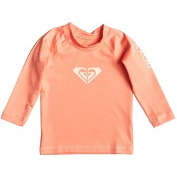 Roxy - Girls Wholeheartlsinf Long Sleeve Surf T-Shirt