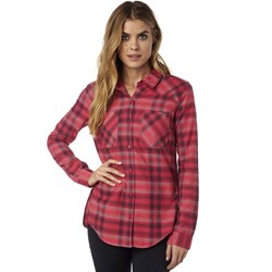 Fox - Womens Utilized Flannel Woven