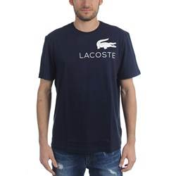 Lacoste - Mens  TH0007 Chest Graphic Logo T-Shirt