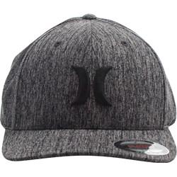 Hurley - Mens Black Suits Outline Flex Fit Hat
