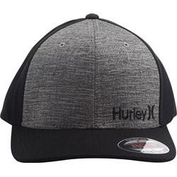 Hurley - Mens Corp Text 2.0 Flex Fit Hat