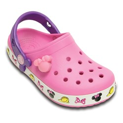 Crocs - Girls Crocband Minnie Clogs