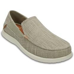 Crocs - Mens Santa Cruz II Luxe Slub Slipon