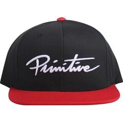 Primitive - Mens Nuevo Script Snapback Hat