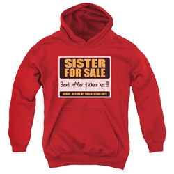 Sister For Sale - Youth Pullover Hoodie