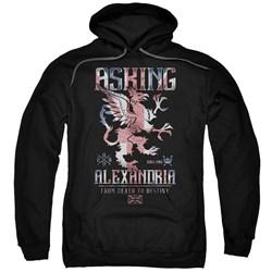 Asking Alexandria - Mens Royalty Pullover Hoodie