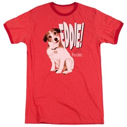 Frasier - Mens Eddie Ringer T-Shirt