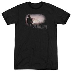 Jericho - Mens Mushroom Cloud Ringer T-Shirt