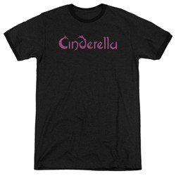 Cinderella - Mens Logo Rough Ringer T-Shirt