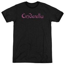 Cinderella - Mens Logo Rough Ringer T-Shirt